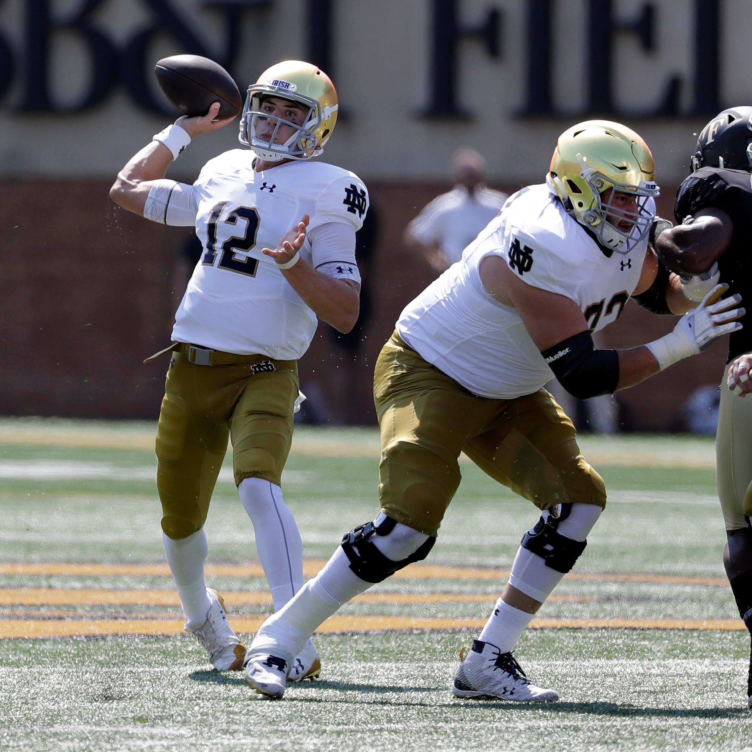 QB switch to Ian Book gives Notre Dame better chance to win big