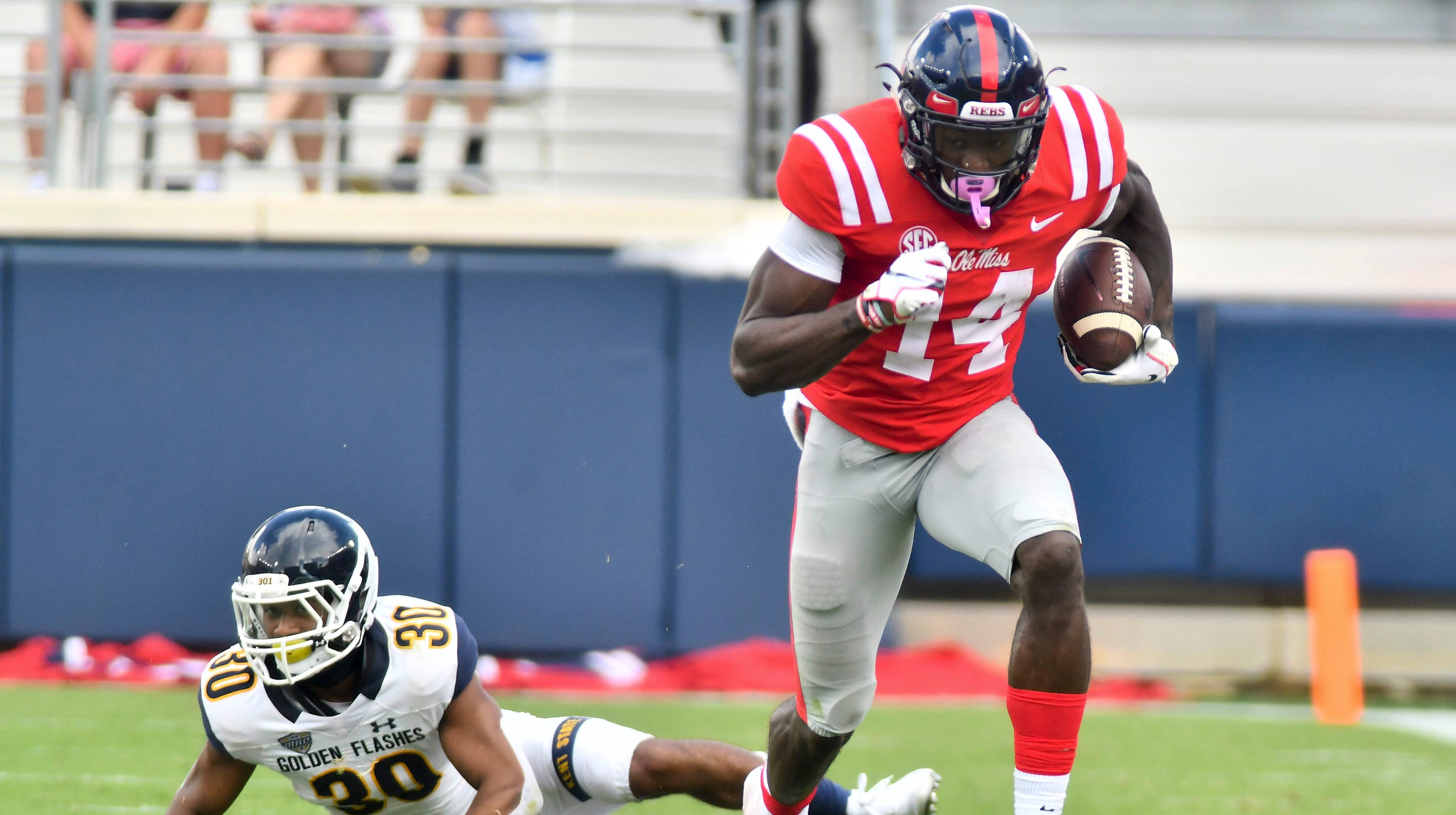 Image result for dk metcalf ole miss