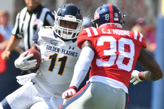 Ncaa Football Kent State At Mississippi