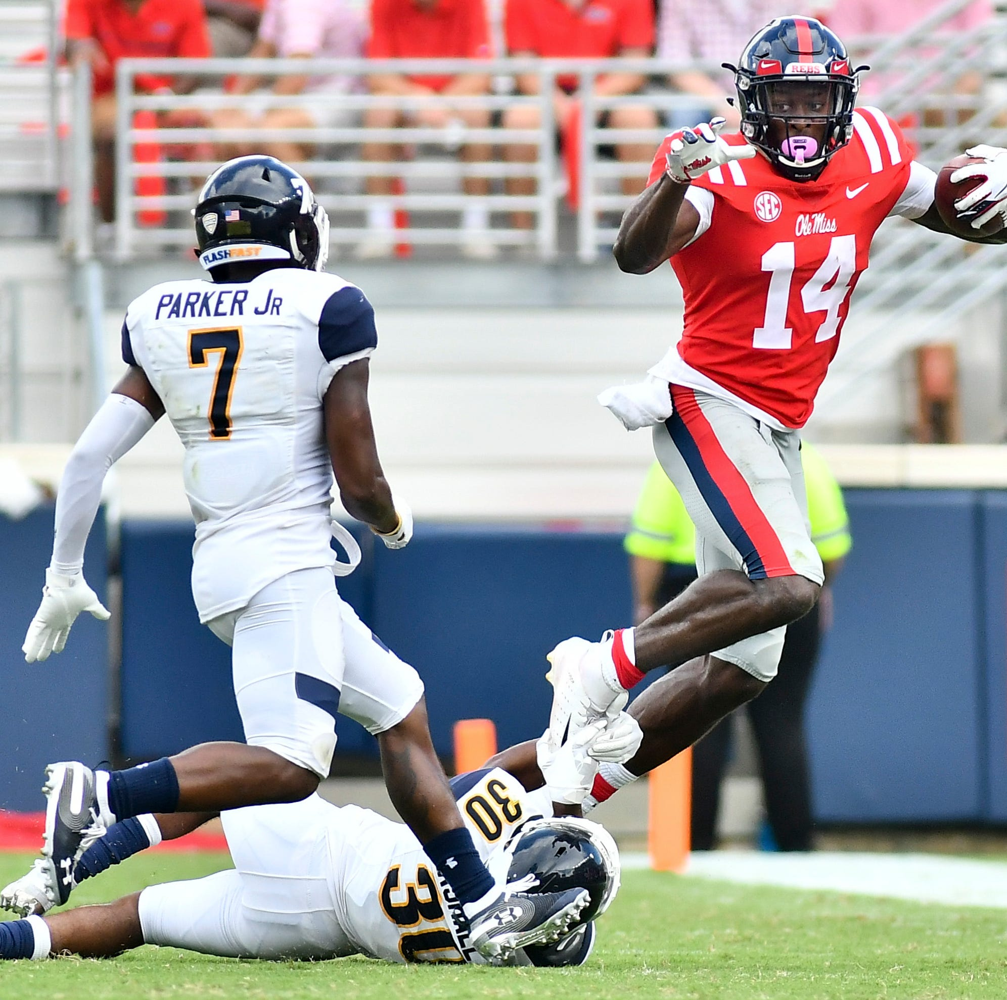 Second half surge propels Ole Miss to 38-17 win over Kent State
