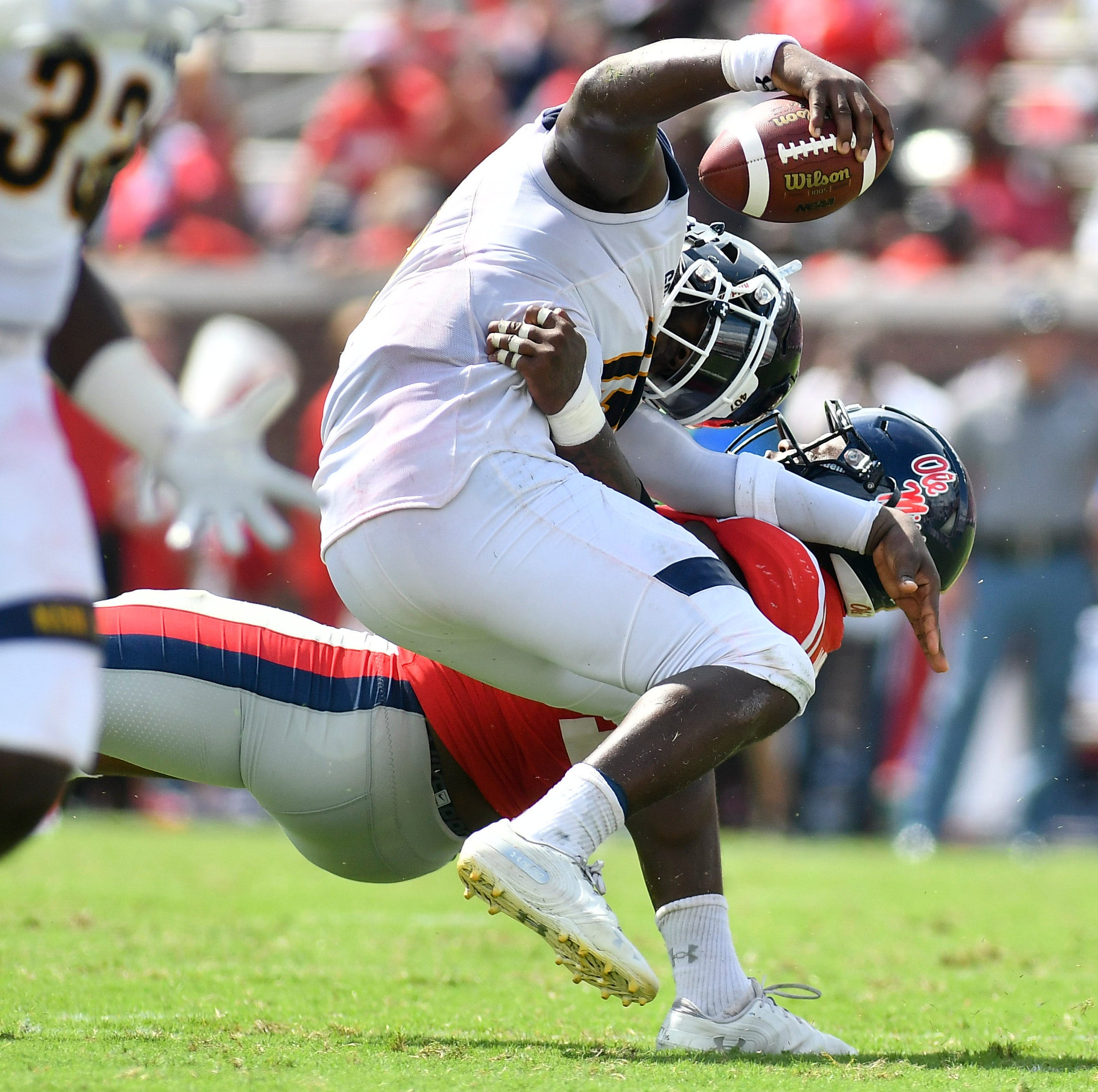 Ole Miss forced to adjust defensive lineup ... and it works