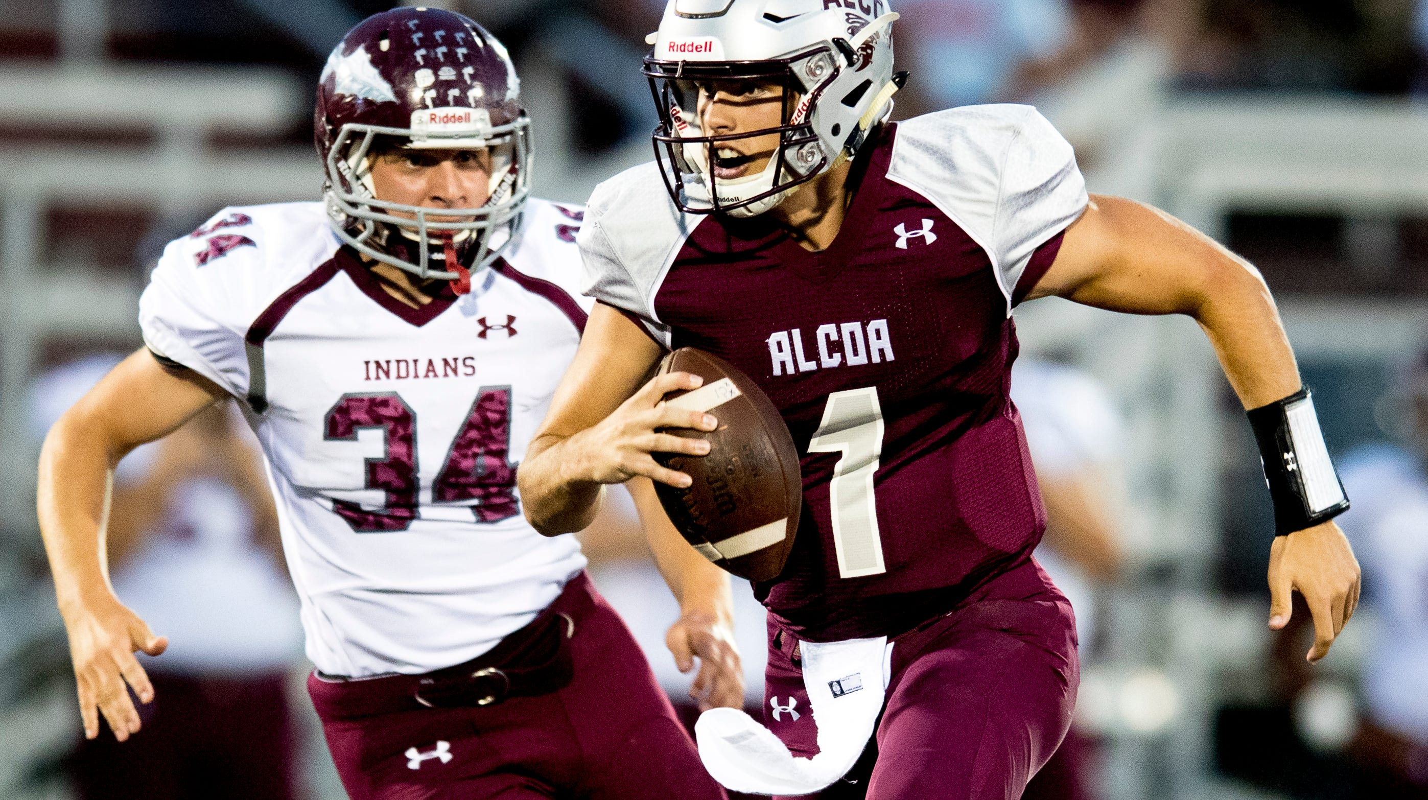 Who were the Week 6 top performers in Knoxville high school football?