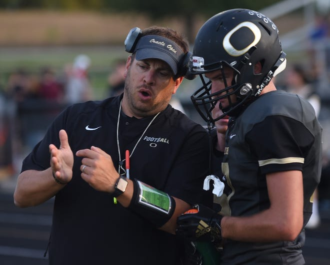 Josh Strasser coached his alma mater Delphi for the past eight seasons.