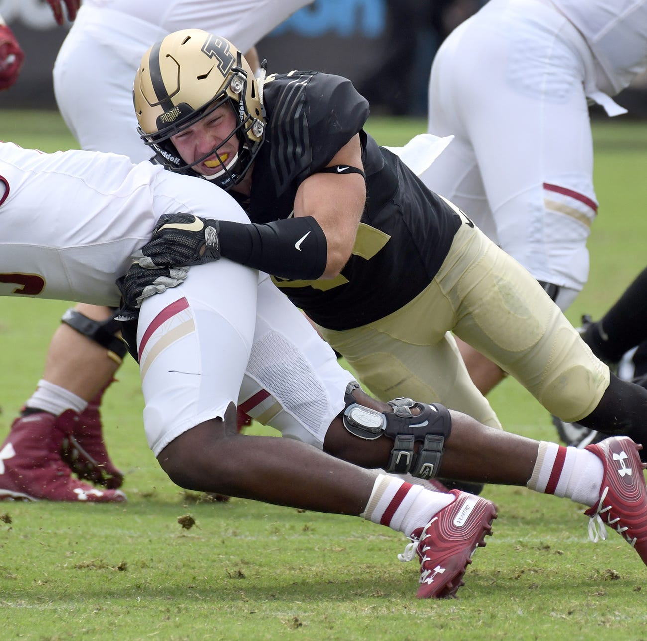 Purdue's maturing defense makes biggest stride toward the identity it covets