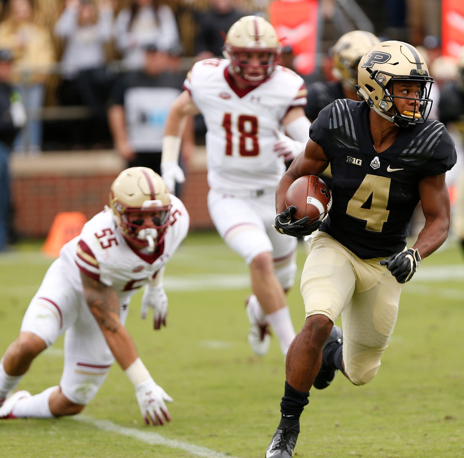 Purdue freshman Rondale Moore named consensus All-American