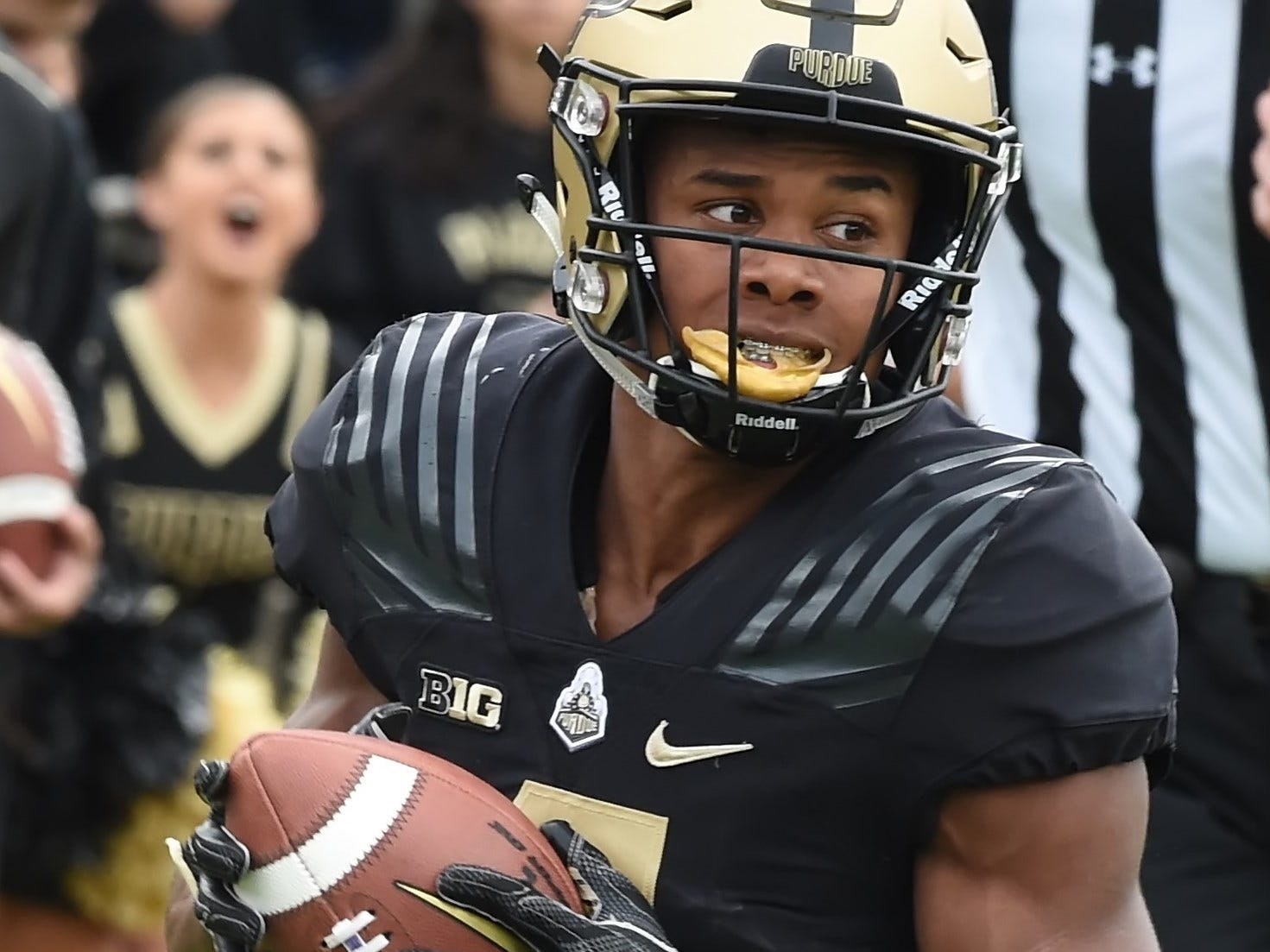 The Boiler faithful have something to cheer about against Boston College Saturday. Rondale Moore.