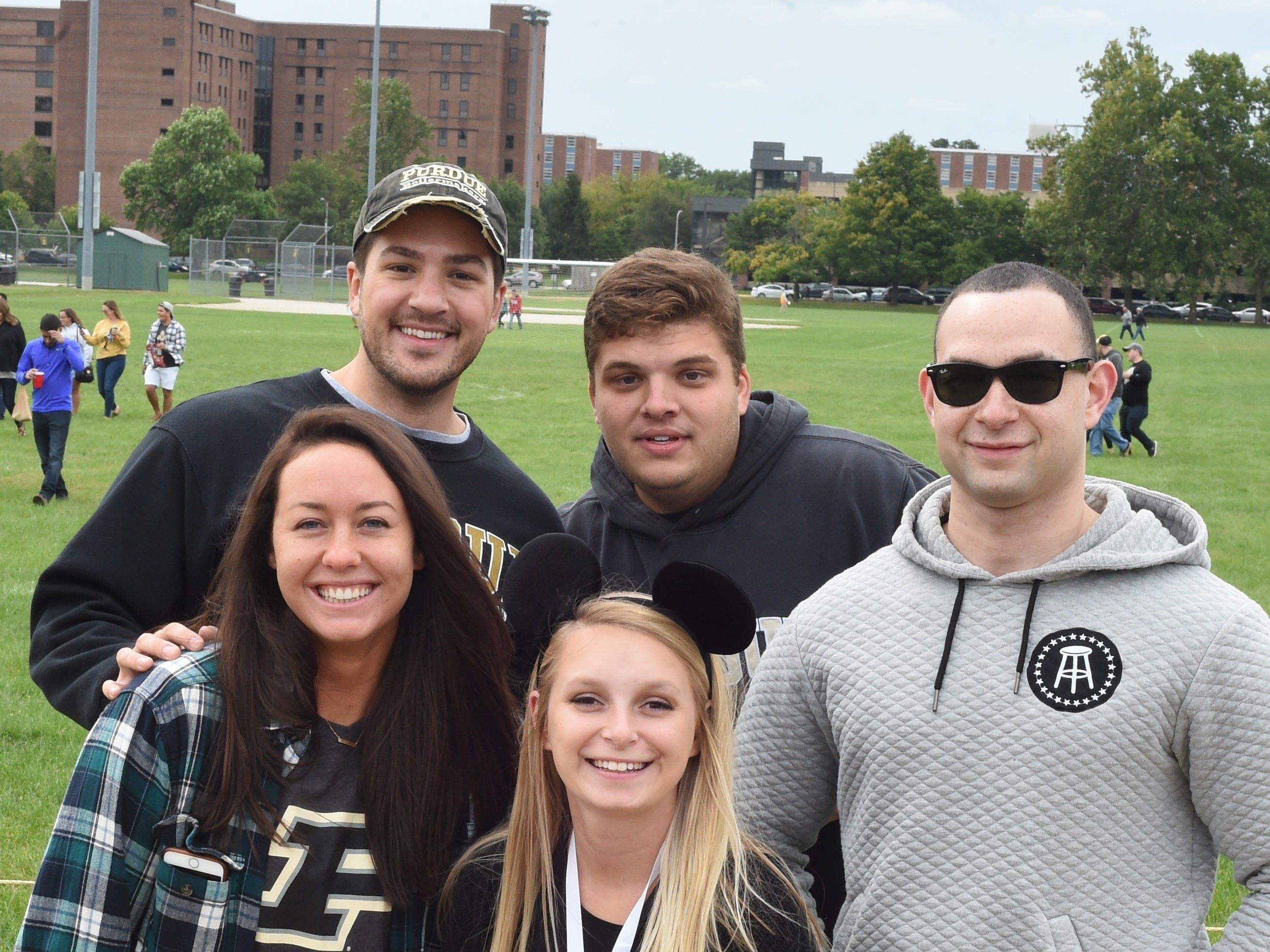 The Boiler faithful have something to cheer about against Boston College Saturday.