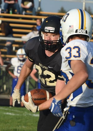 Delphi's Blake Carroll was a first-team all-state selection by The Associated Press and the Indiana Football Coaches Association.