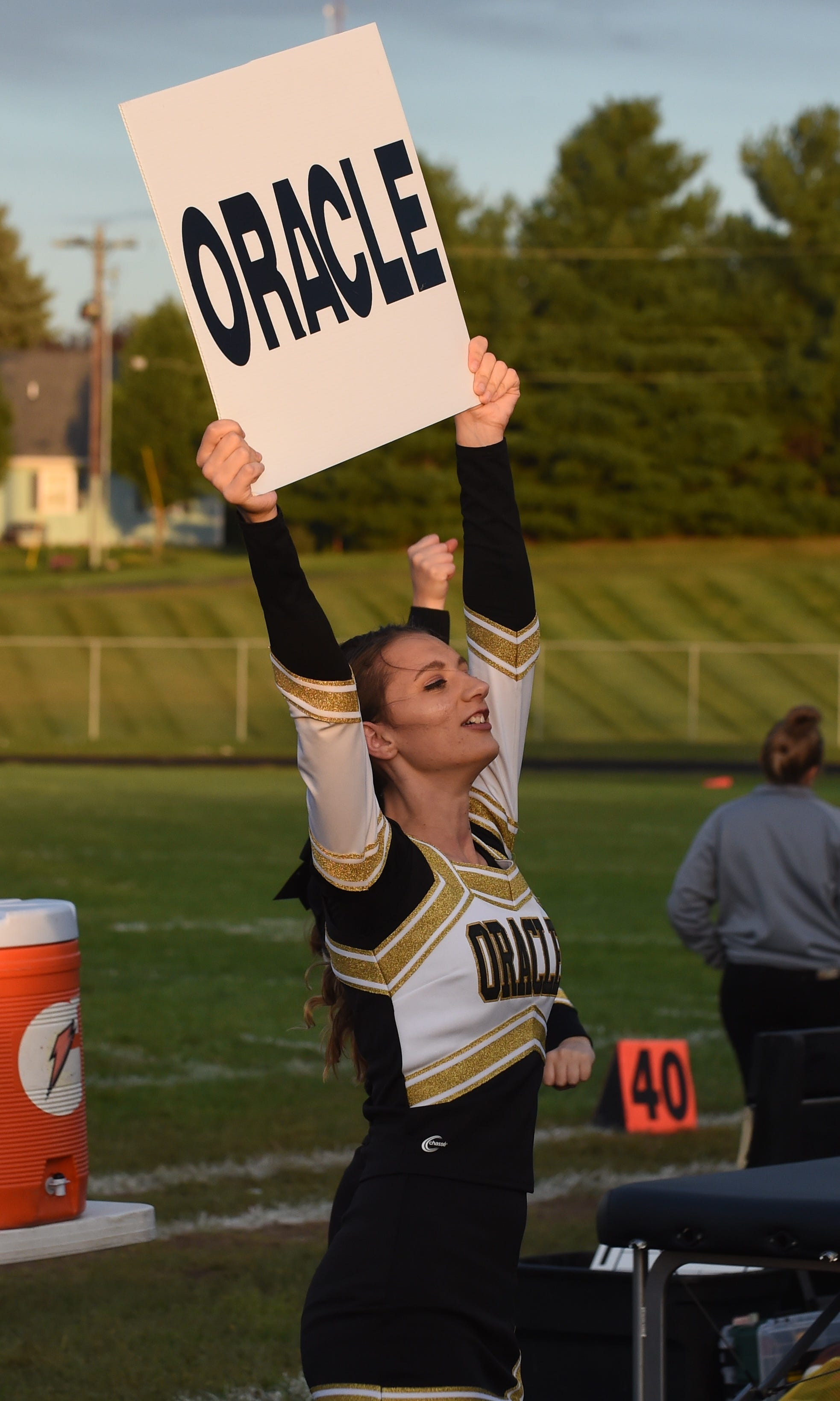 Scenes from Friday's Delphi homecoming as the Oracles dispatch the Vikings.