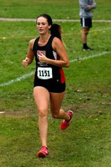 Fairfield Union junior Madison Eyman placed 13th at the 2019 state cross country meet to earn All-Ohio honors.