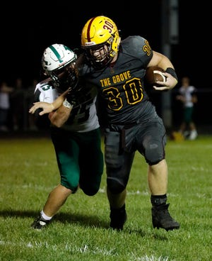 Berne Union senior Chaz Dickerson was the Mid-State League-Cardinal Division Back of the Year.