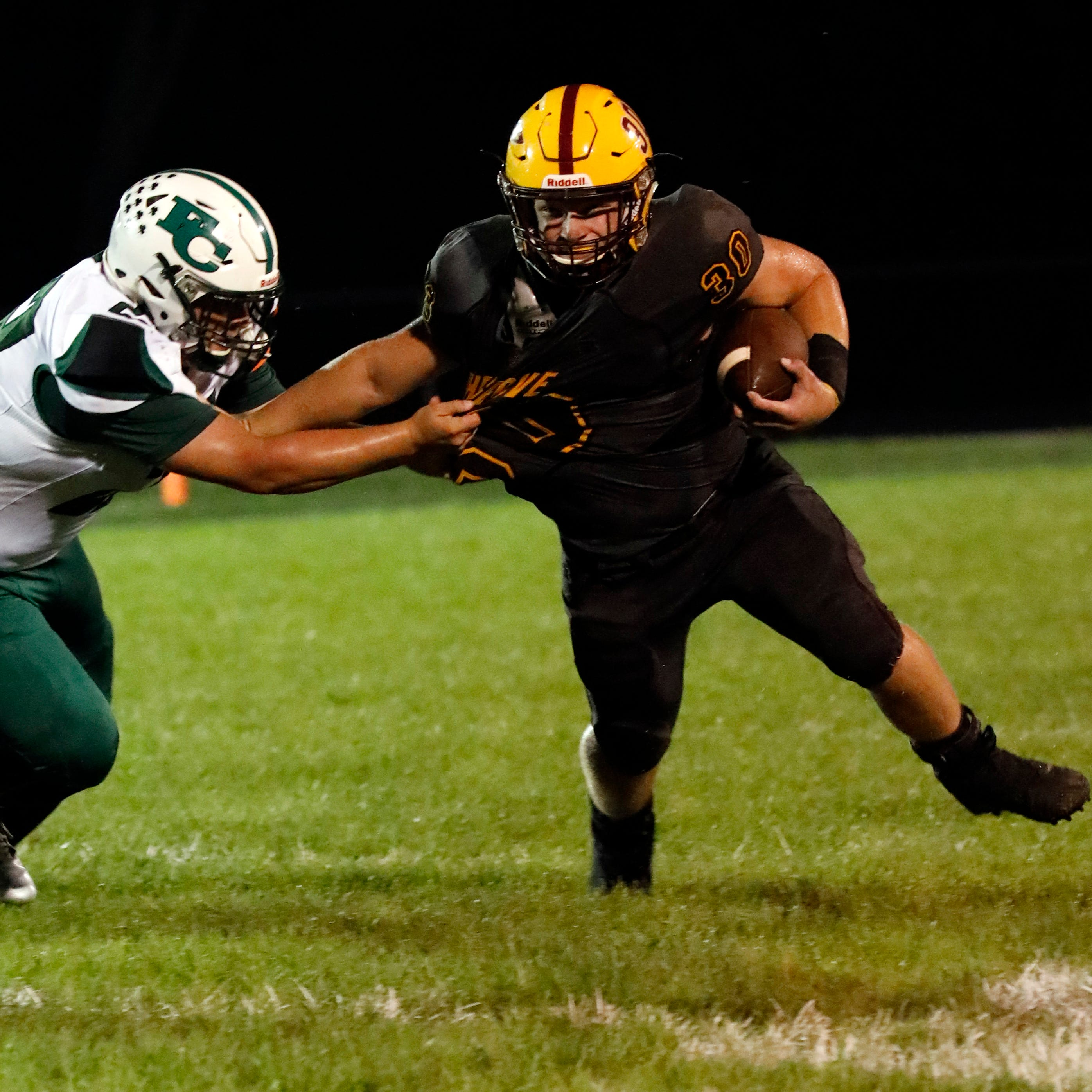 H.S. Football Roundup: Berne Union knocks off previously unbeaten Fisher Catholic