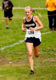 Lancaster senior Elise Johnson is the 2018 Eagle-Gazette Girls Cross Country Runner of the Year.