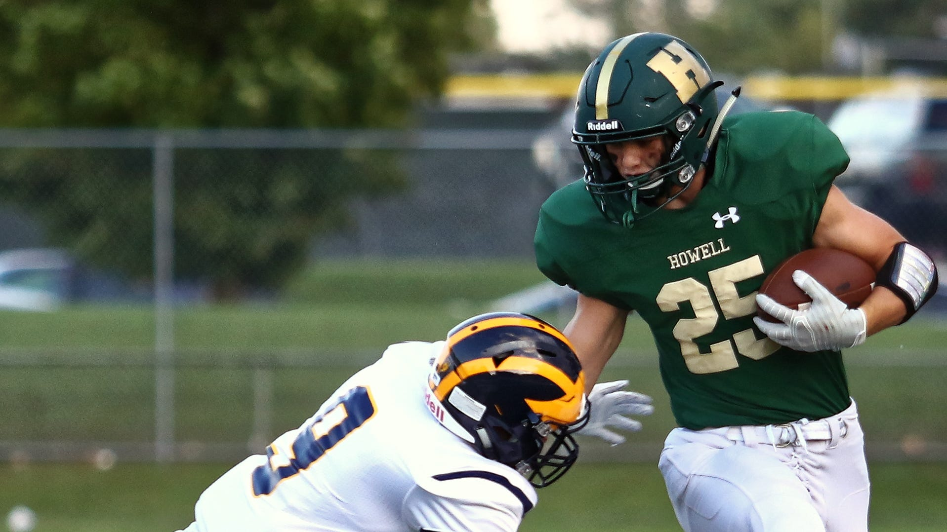 5 takeaways from Hartland-Howell football game