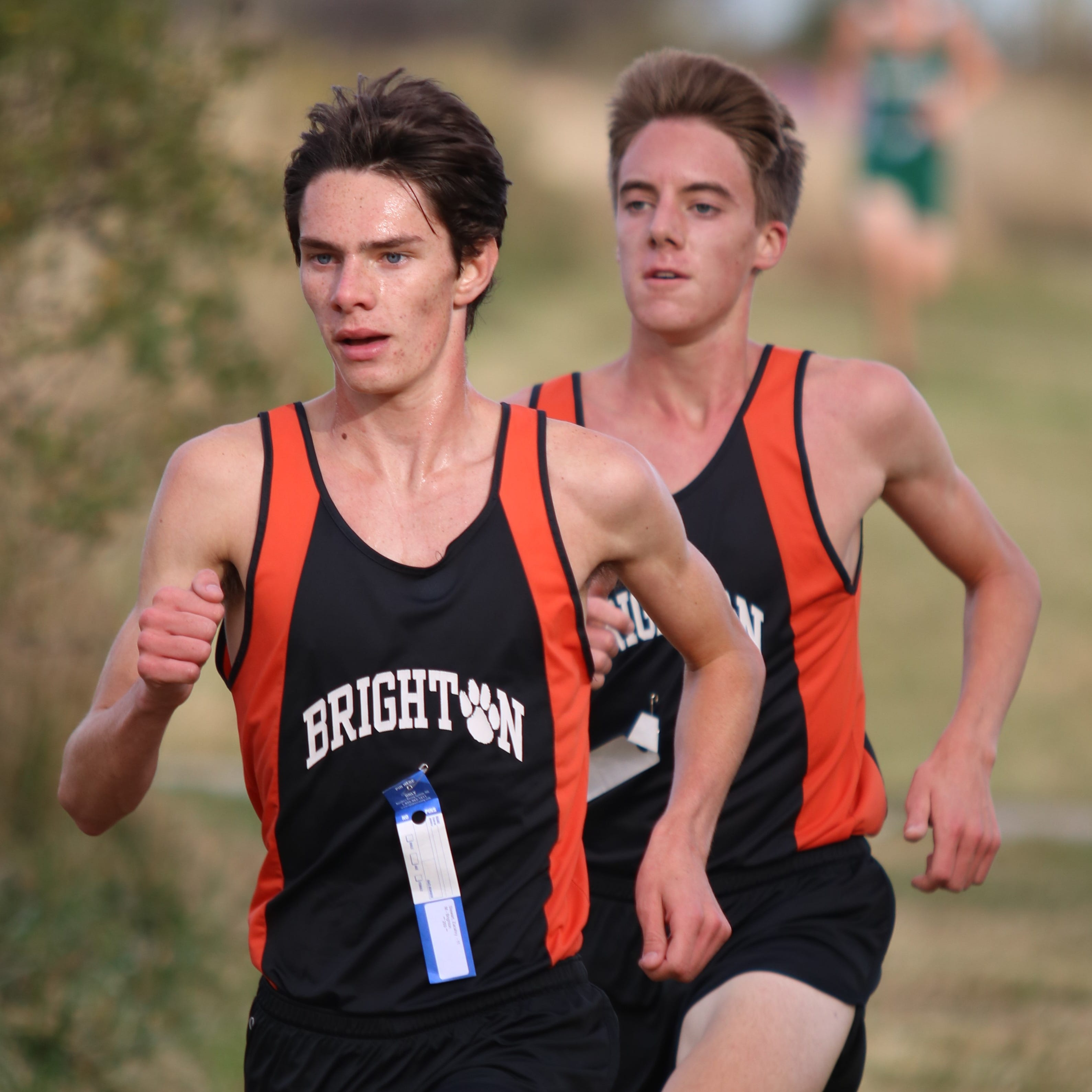 Two Brighton cross country runners break school record from 2002