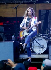 Sheryl Crow performa at  Bourbon & Beyond 2018. 