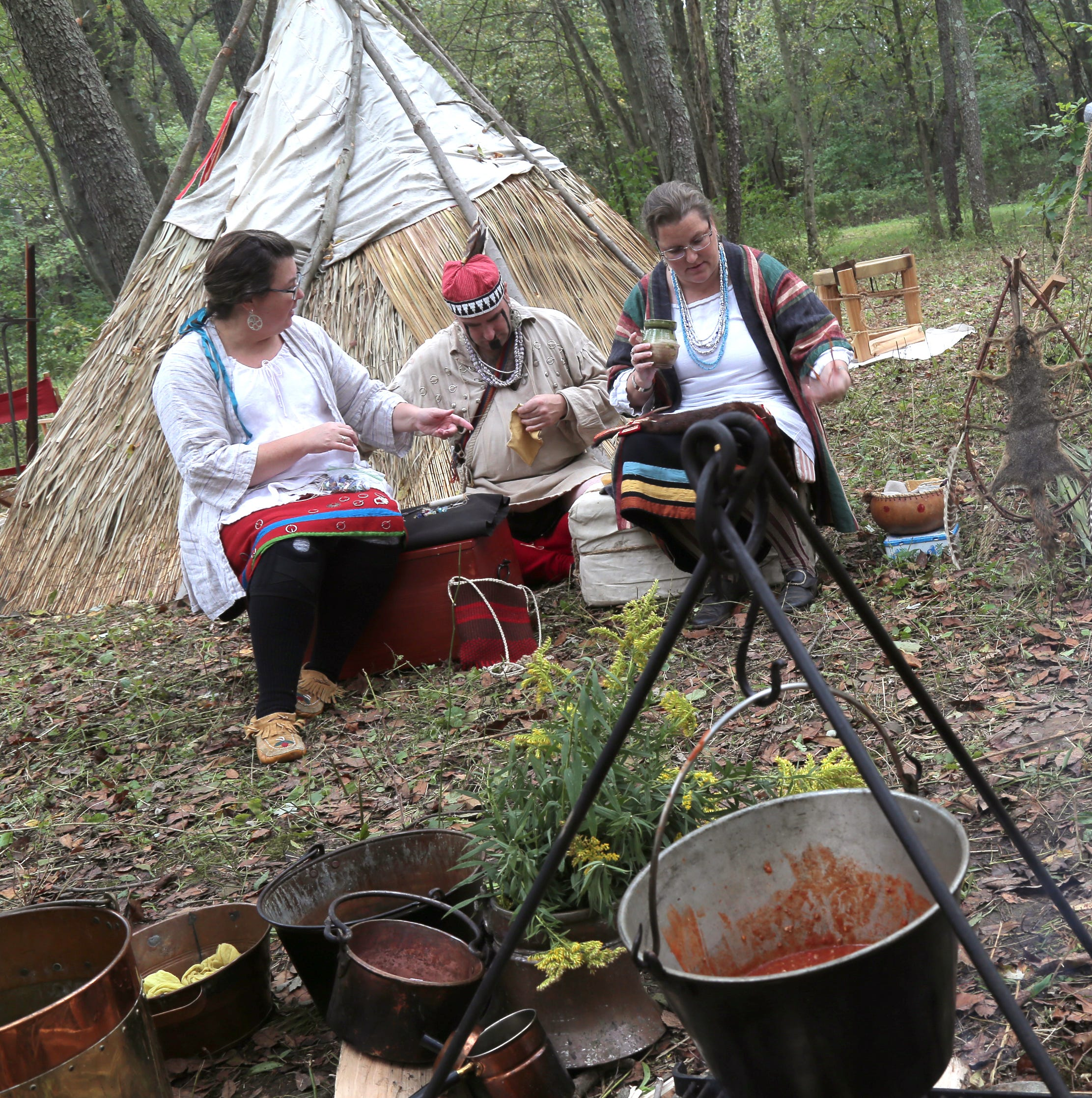 Gathering commemorates site of Delaware Indian village near Perrysville