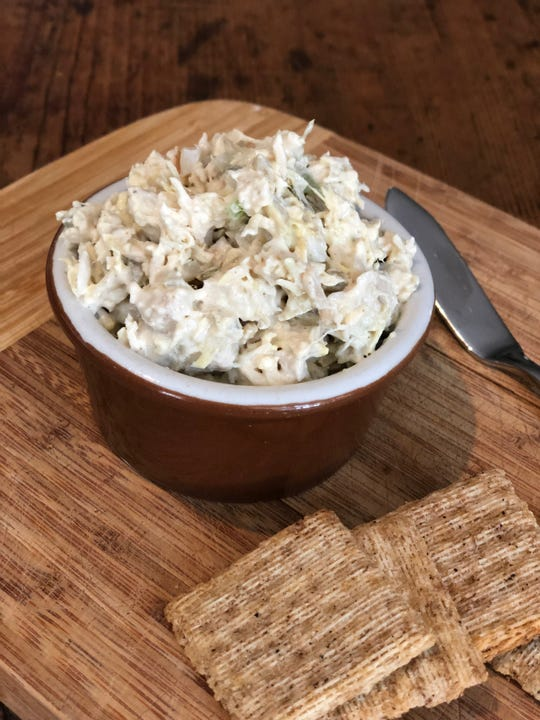 Carol's Cheesecake's Chicken Salad has an old-school Southern flavor.