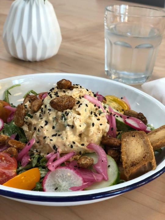 Edge Alley's Thai-inspired Chicken Salad.
