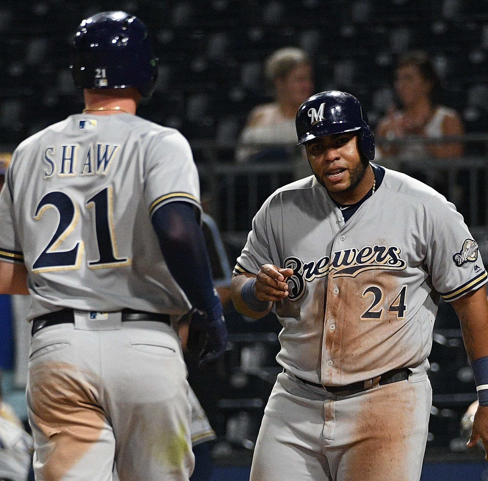 Brewers 8, Pirates 3: Rain delay helps deliver a decisive victory