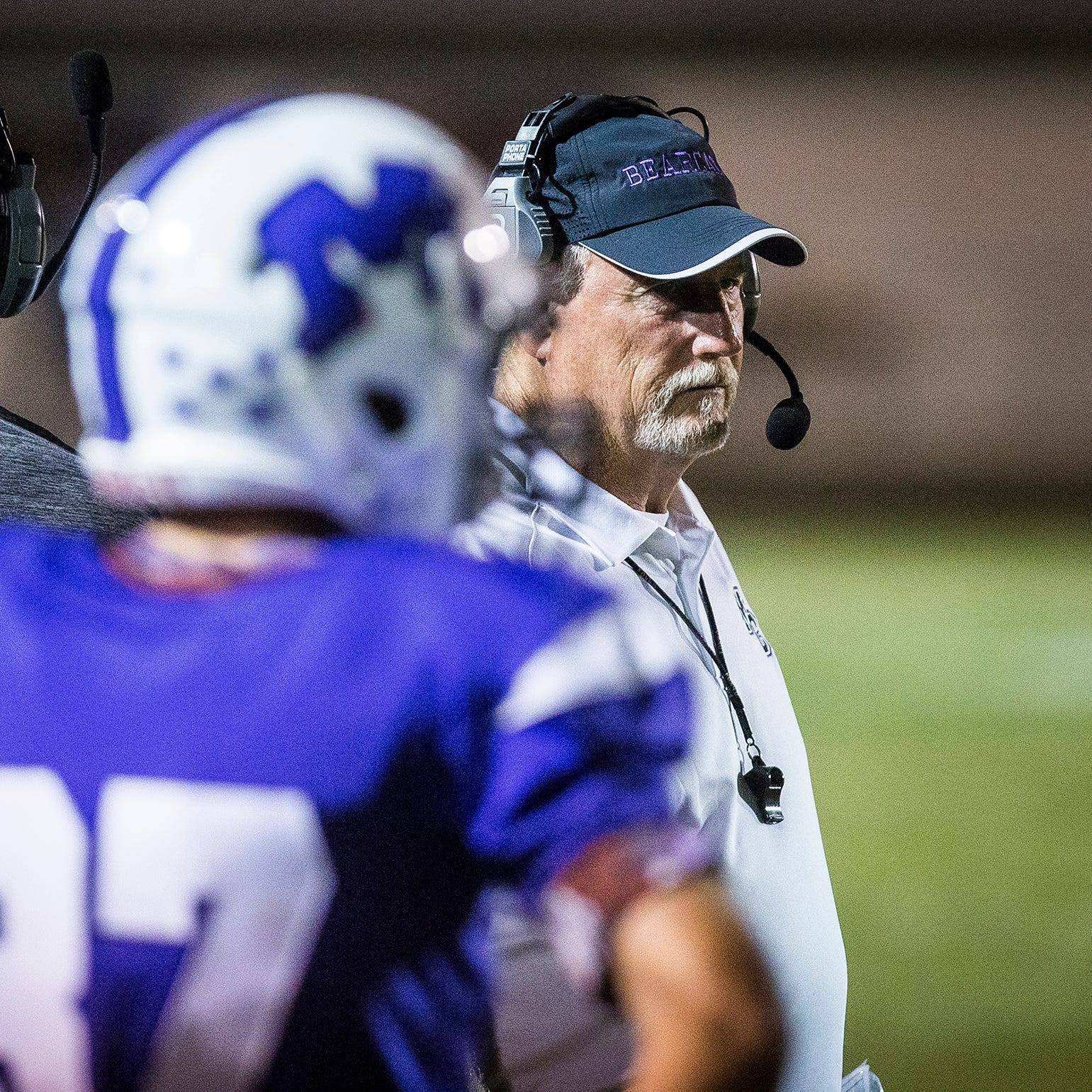 Muncie Central football coach steps down after two seasons