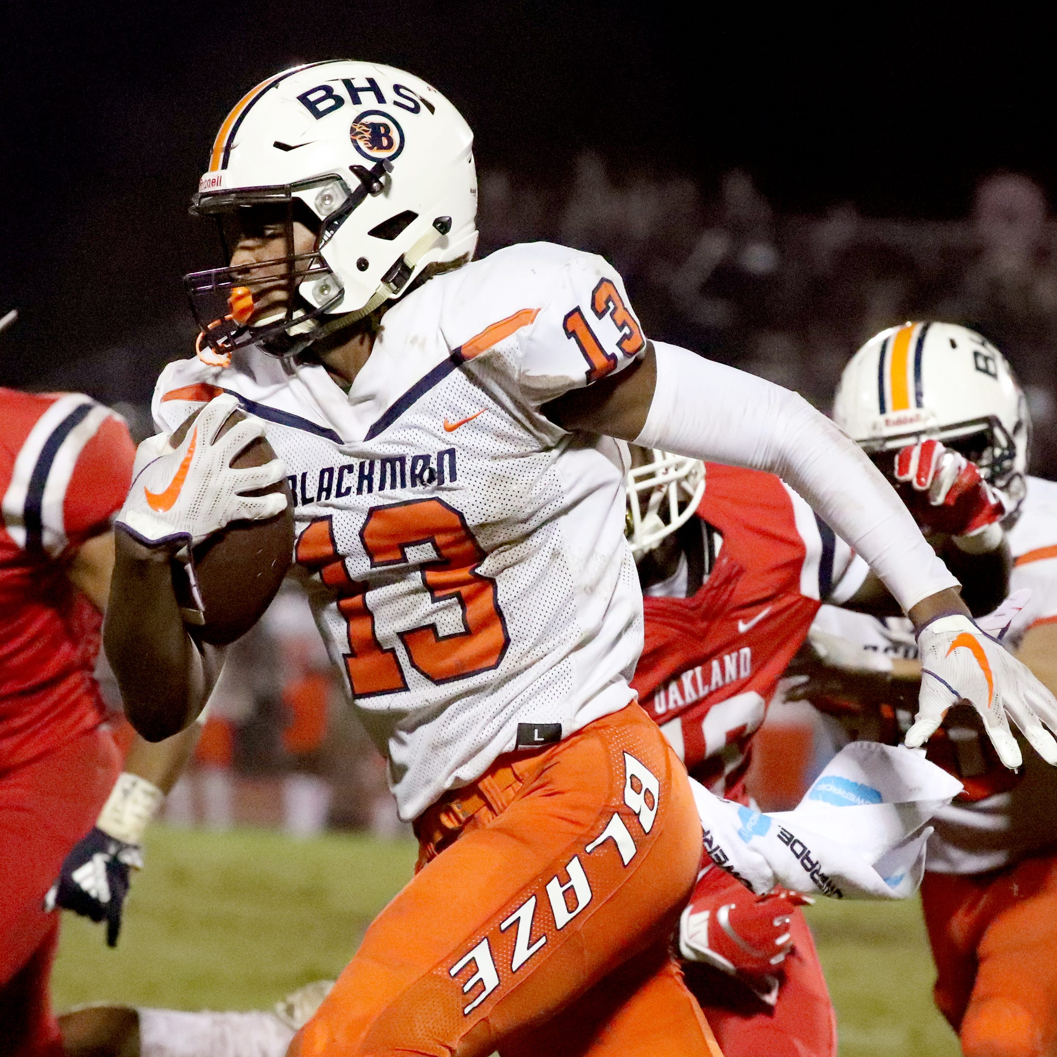 Blackman's Trey Knox suffers ankle injury; will visit Tennessee Vols on Saturday