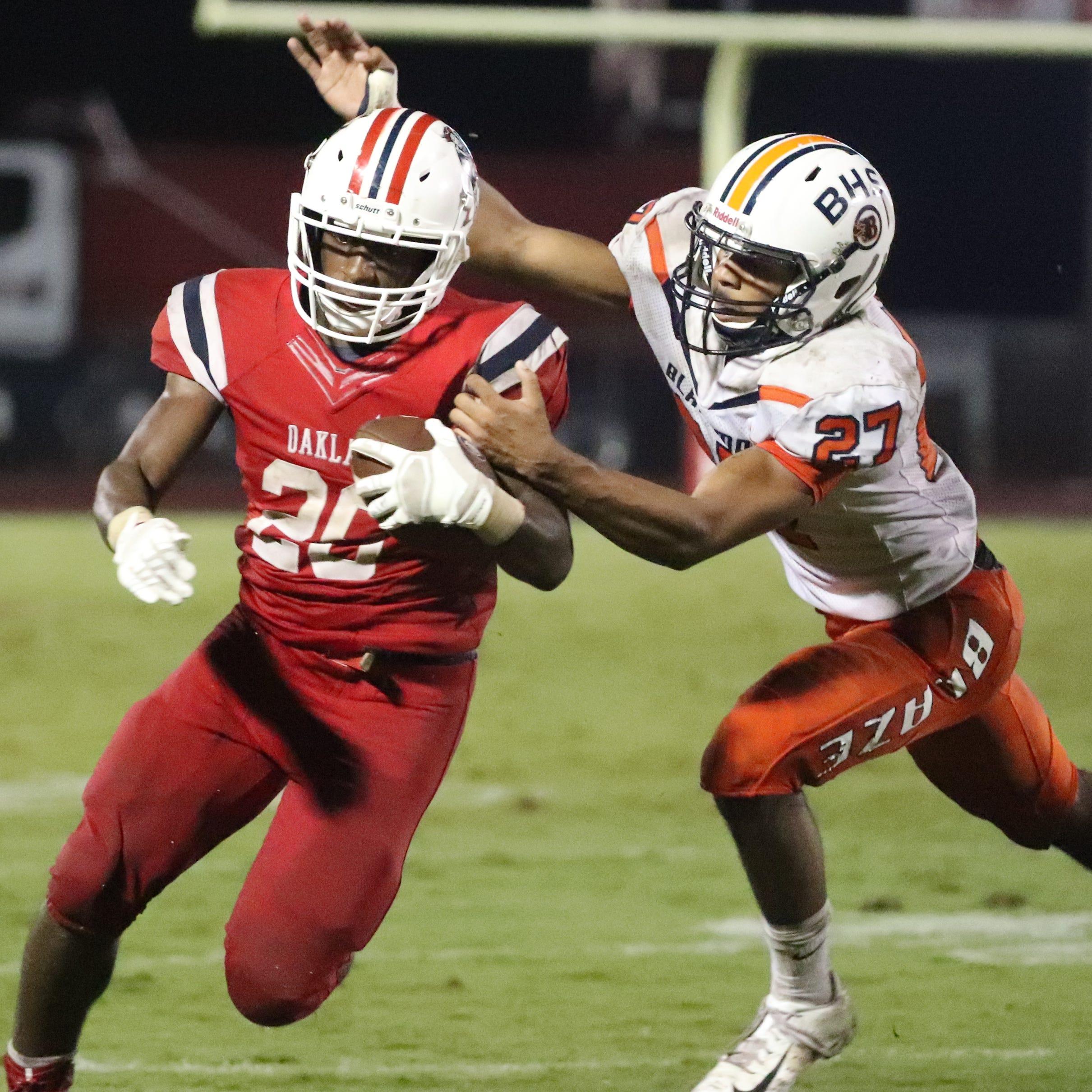 Friday's Murfreesboro area high school football top performers