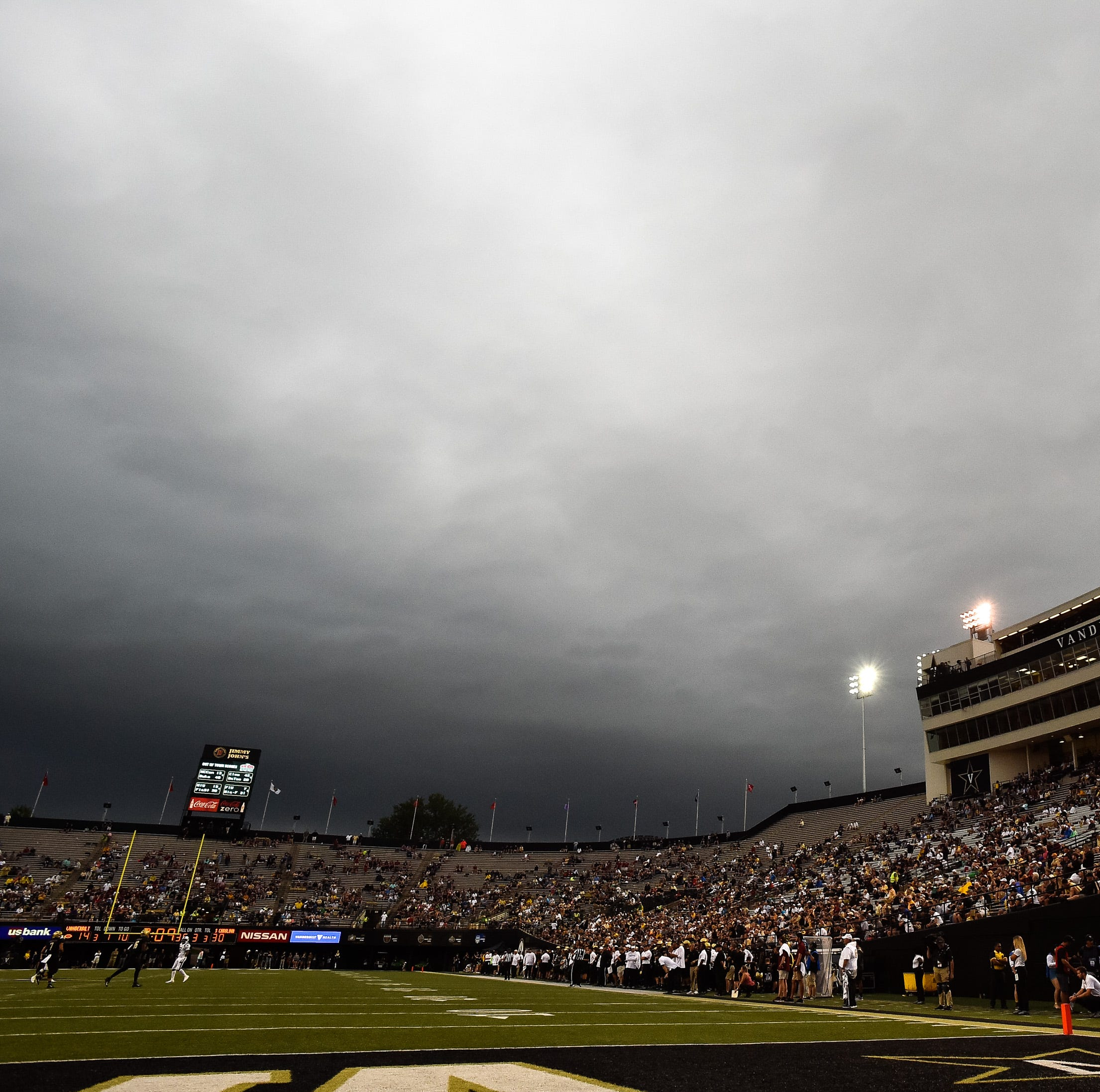 Vandy-South Carolina game to restart at 6:08 p.m.