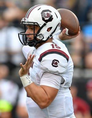 South Carolina quarterback Jake Bentley