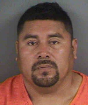 Ernesto Sanchez-Cumplido was arrested for allegedly attacking a man with a machete.