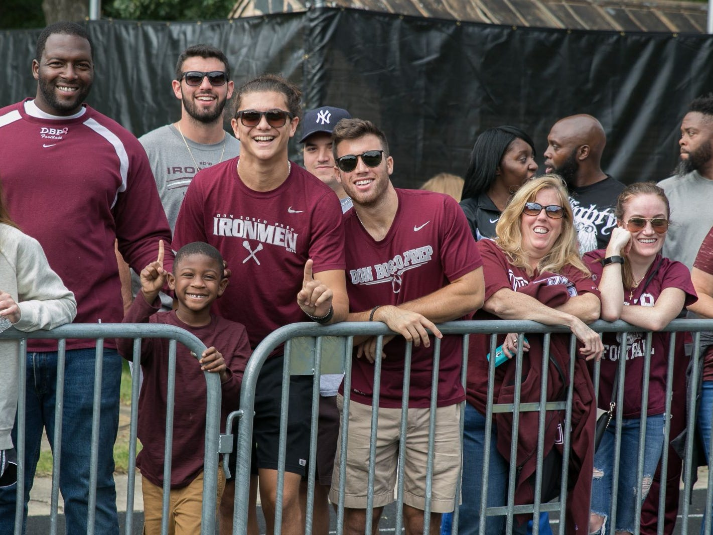 Fans at the Don Bosco versus Bergen Catholic 2018 rivalry football game. 09/22/2018
