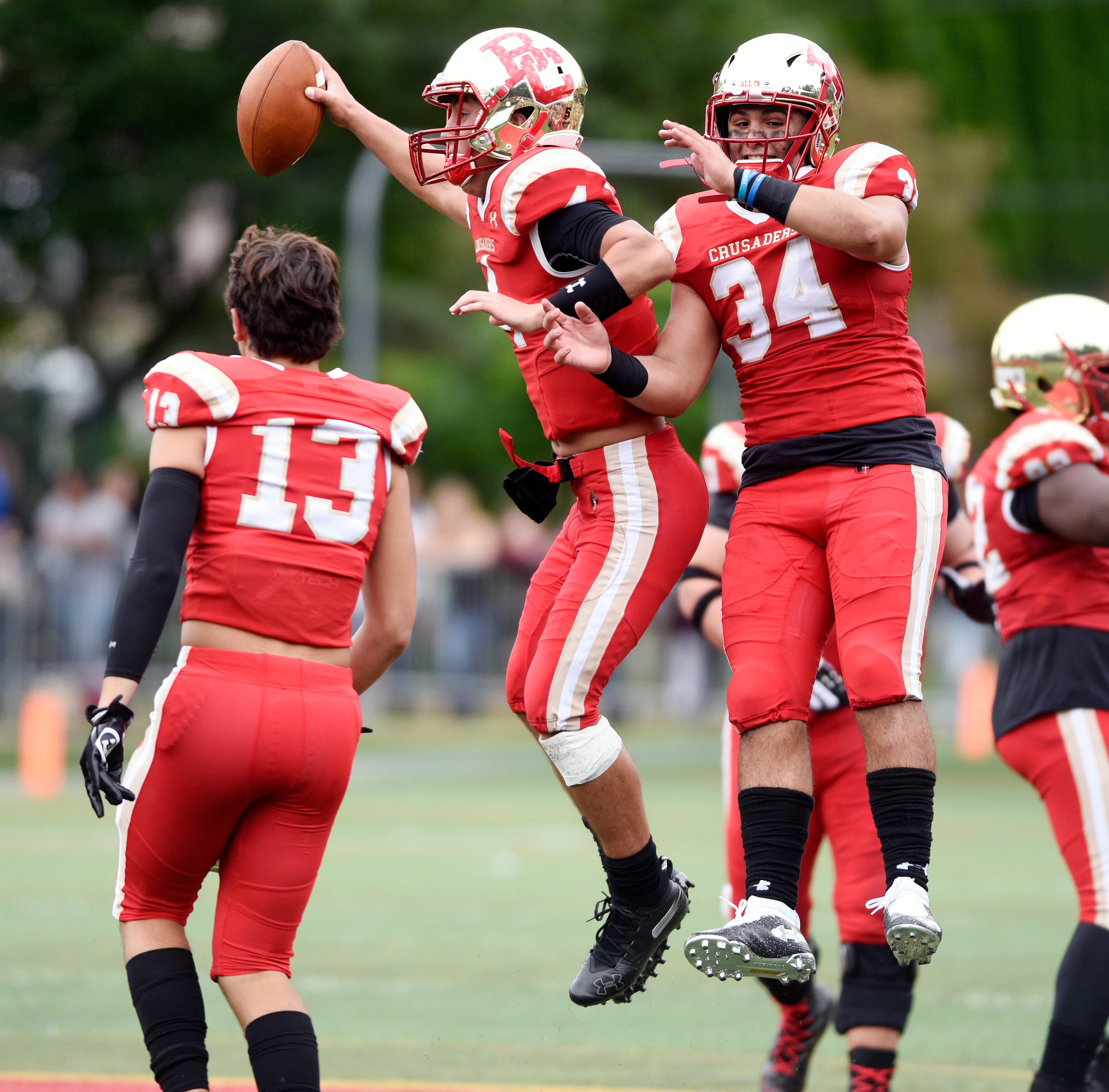 Bergen Catholic football holds off Don Bosco, 14-13, on late interception
