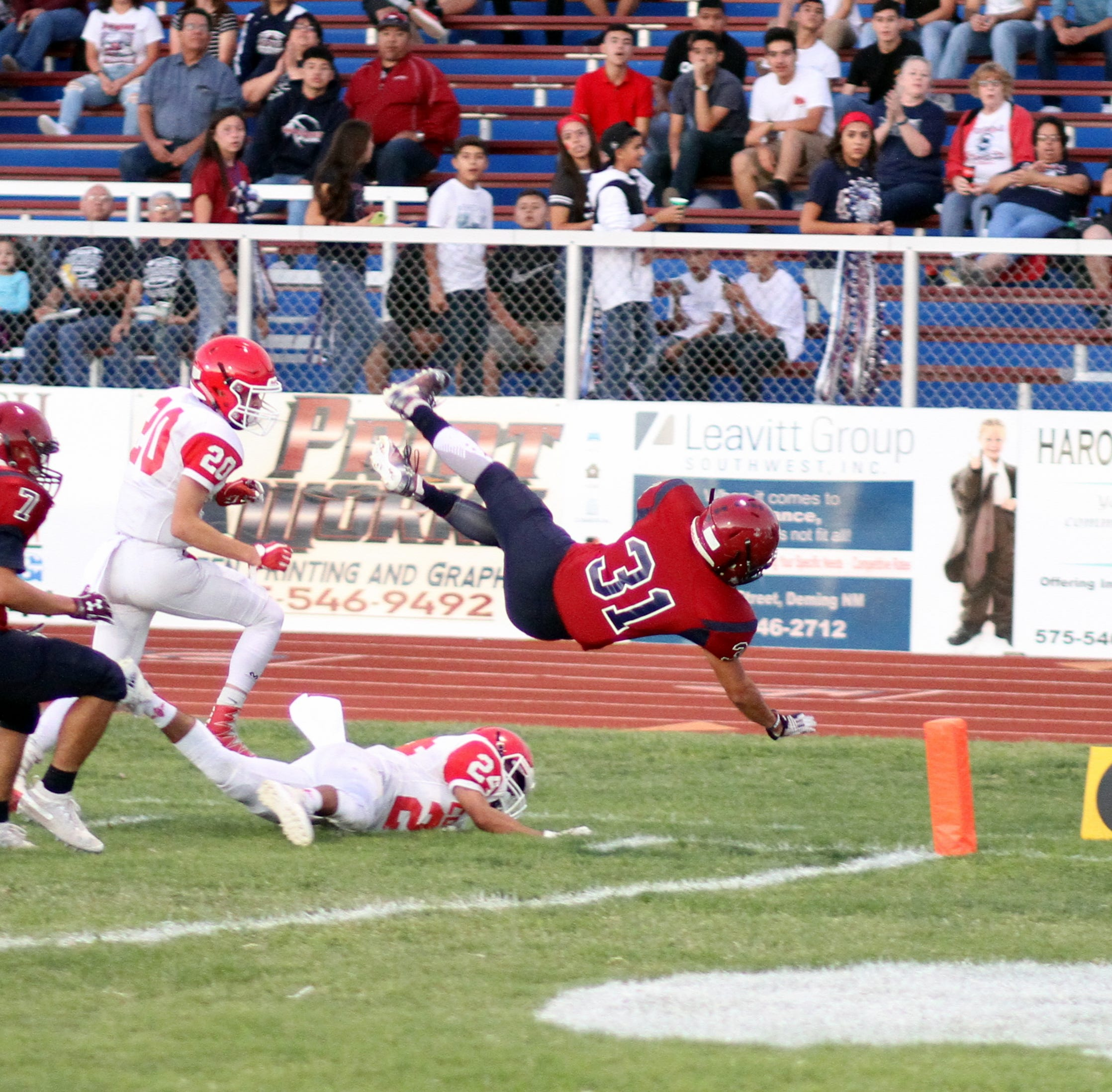 Deming Wildcats clean-up on Cobre, 42-0 on DHS Homecoming Night