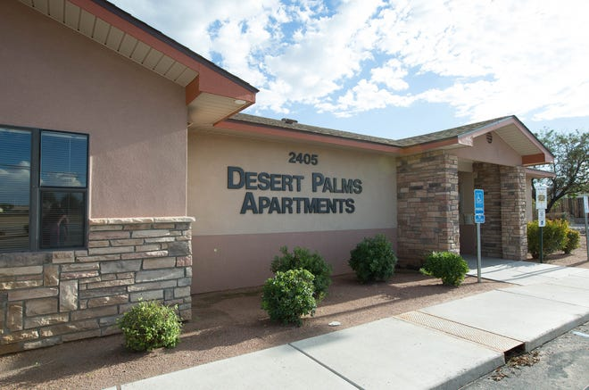 Desert Palms Apartments is being sued by former tenants. September 21, 2018