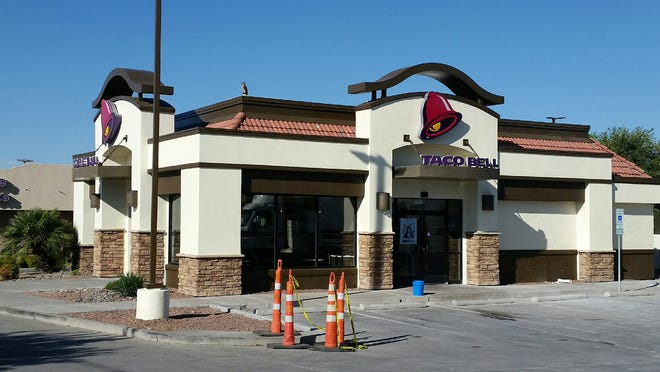 A Taco Bell restaurant is seen at 2583 N. Main St. in Las Cruces.