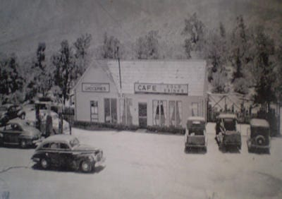 Sugarloaf Cafe, a landmark restaurant and market on Highway 74 in Mountain Center, first opened to the public in 1933. Palm Springs hotel owner Gabbi Rose has signed a lease to reopen the restaurant and market, hopefully by the end of 2018.