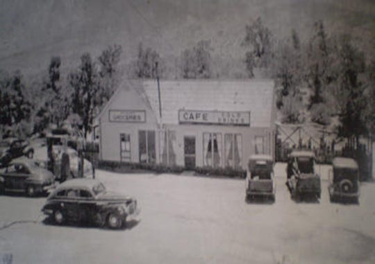 Sugarloaf Cafe, a landmark restaurant and market on Highway 74 in Mountain Center, first opened to the public in 1933.