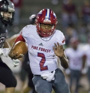Pine Forest quarterback LD Clardy is up to four offers and said he picked up interest from Georgia after a camp last weekend.