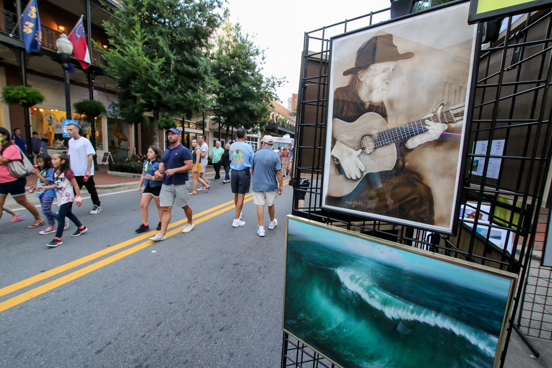 Photos September Gallery Night Ushers In Fall With Hot Art