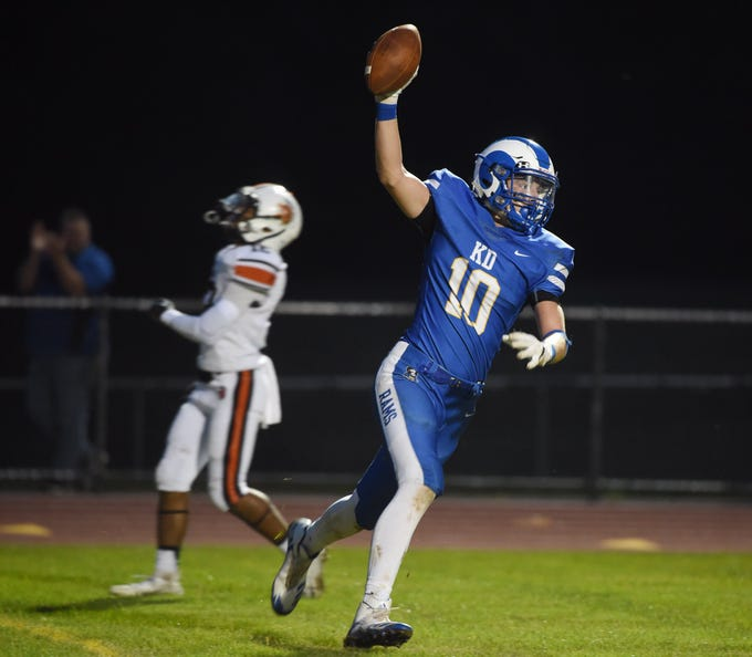 Kennard-Dale and York Suburban took the field for Week 5 football on Sept. 21,  2018.