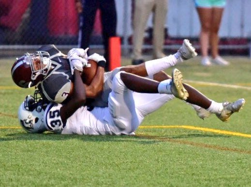 Chambersburg took on State College during Week 5 of high school football on Sept. 21, 2018.