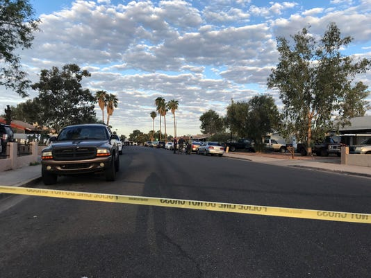 Phoenix shooting scene