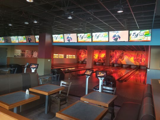 State 48 Funk House features bowling lanes, pool tables and shuffleboard.