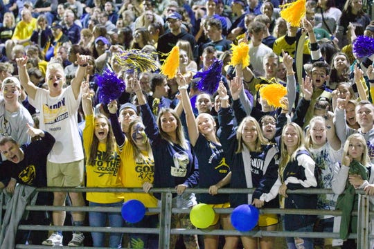 A fired-up Homecoming crowd cheered on Elco to a 19-14 win over Northern Lebanon on Friday night.