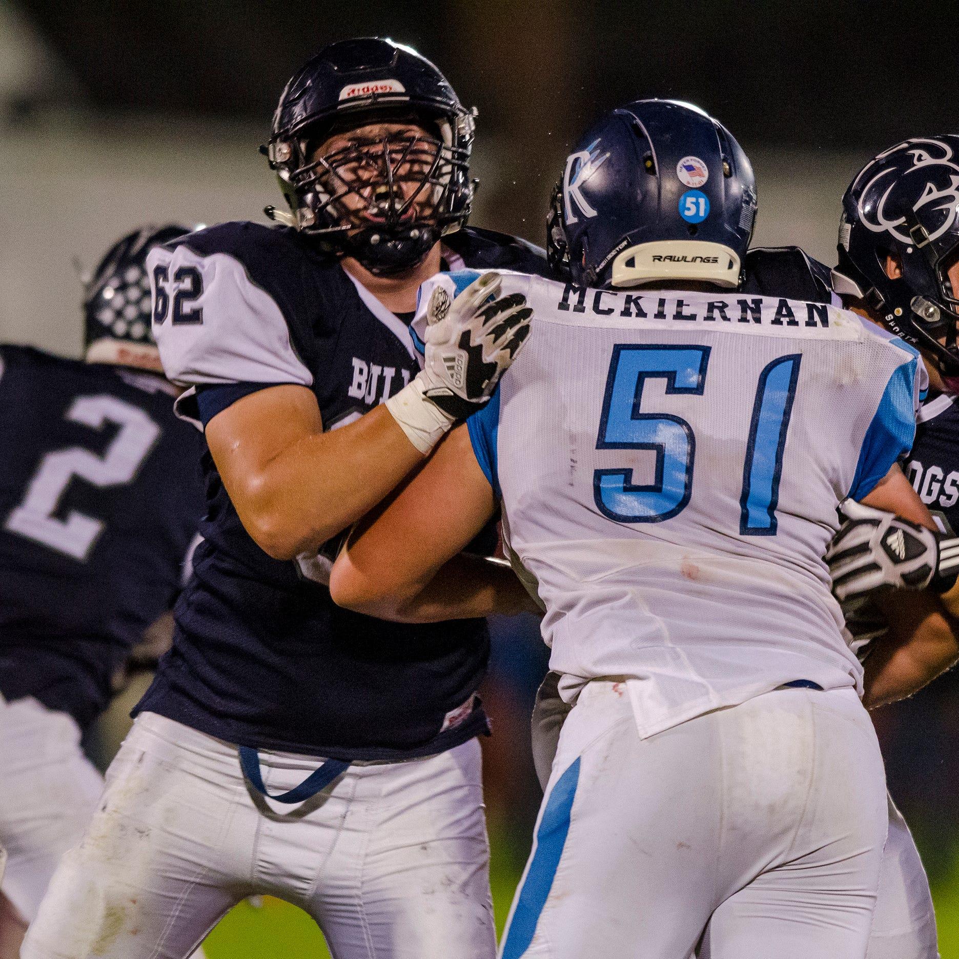 Prep Football Recap: Richmond outlasts Yale in BWAC showdown
