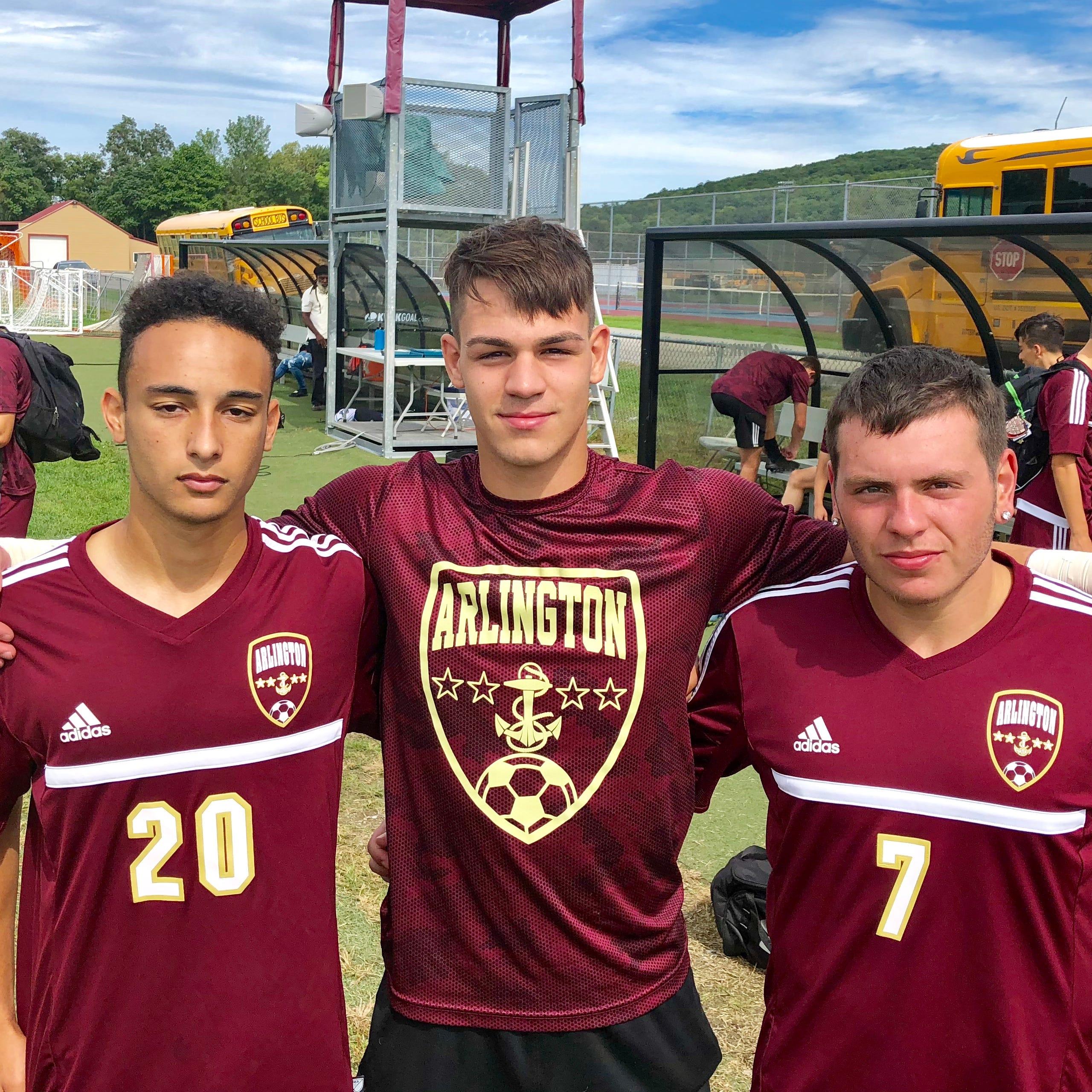 Boys soccer: Colantuono, defense power Arlington as Admirals top rival Ketcham