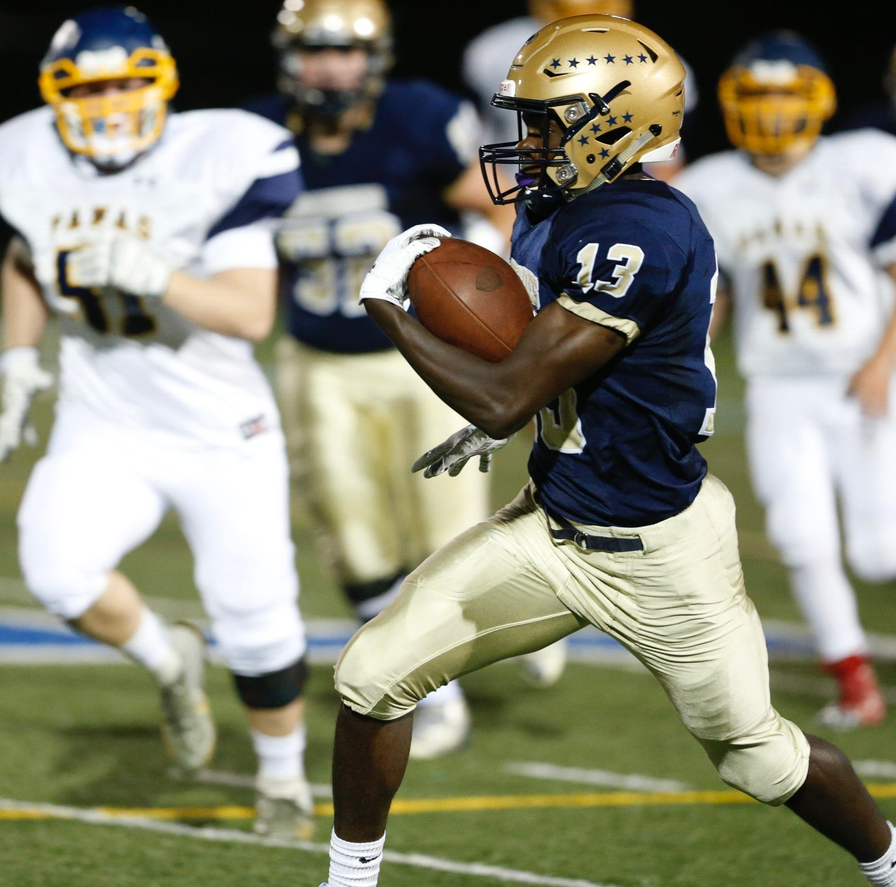 Business as usual: Lourdes football defeats Panas
