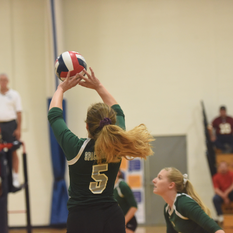 Highland volleyball hosts Spackenkill
