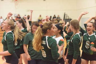 After a family tragedy last winter, Cassi Diamond said it was an easy decision to return to coaching her Spackenkill High School volleyball team.