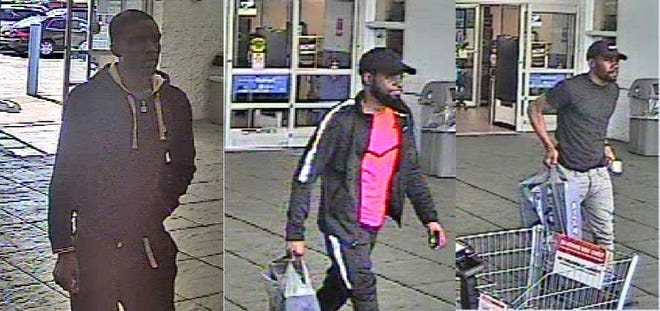 """The Springettsbury Township Police Department is trying to identify these men in connection to a """"fraud/counterfeit currency incident"""" that happened at the Walmart on East Market Street on May 23."""